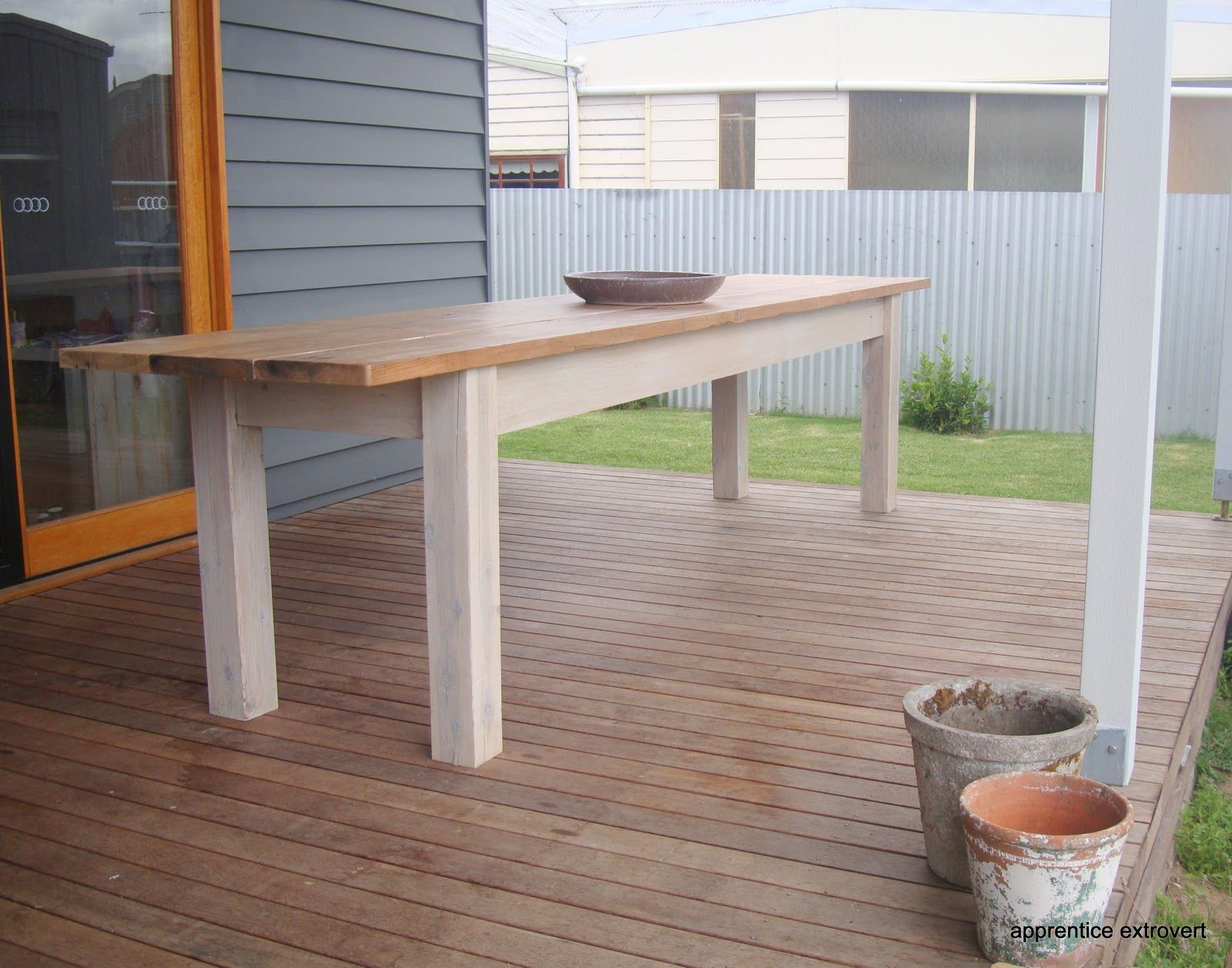Outdoor Table Reveal Outdoor Tables Skinny Tables Table