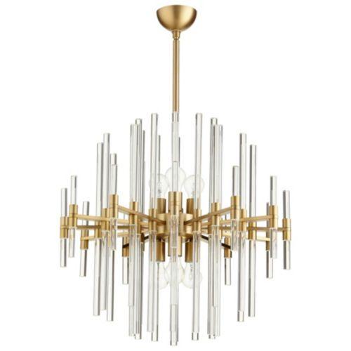 Galaxy chandelier aged brass 22 diameter as shown products galaxy chandelier aged brass 26 diameter as shown aloadofball Images