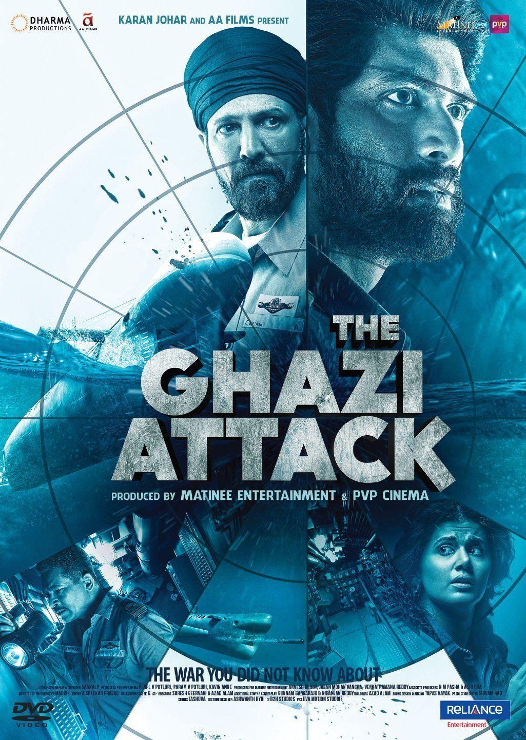 The Ghazi Attack Bollywood DVD (English subtitles) Full