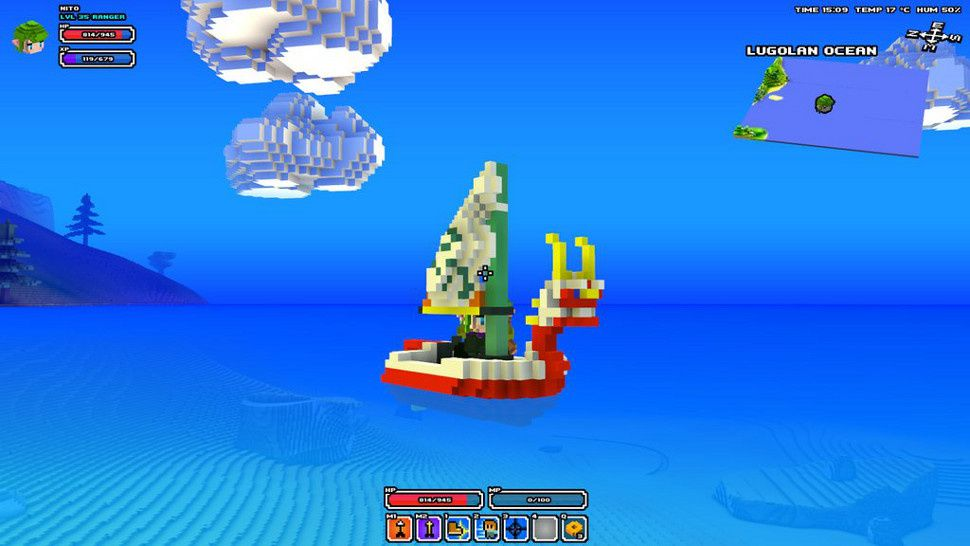 Cube World Was Partly Inspired By Zelda So It Totally Makes Sense To Mod The Boat From Wind Waker I Cube World Cube World