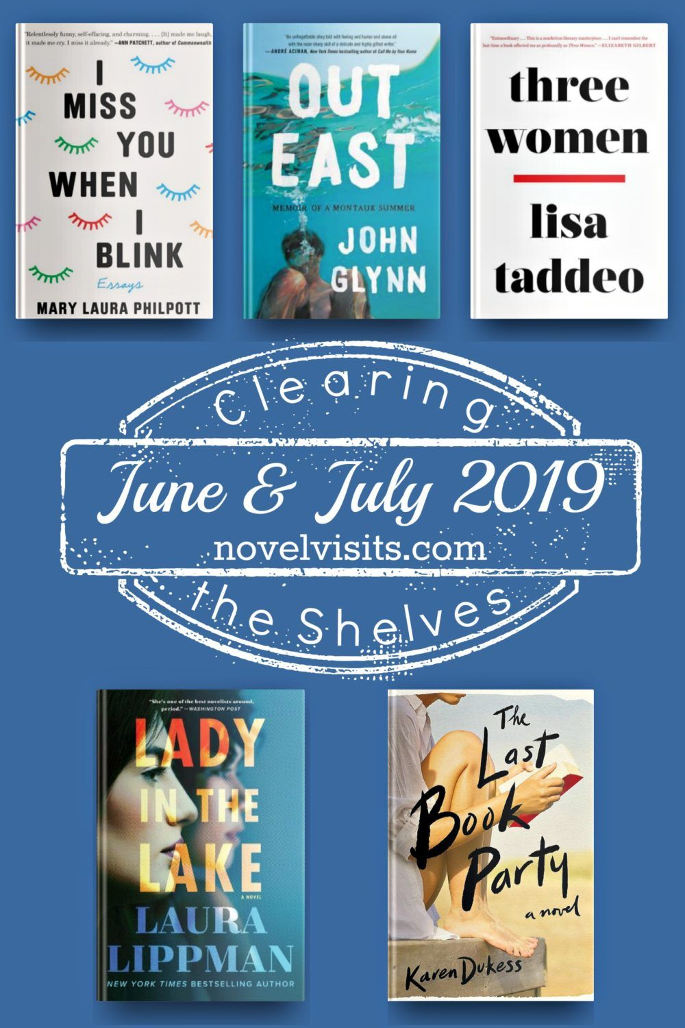 Clearing the Shelves June and July 2019 | Audiobooks