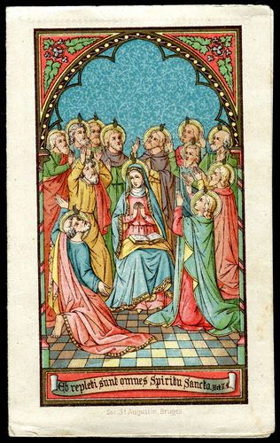 Pentecost w/Blessed Mother