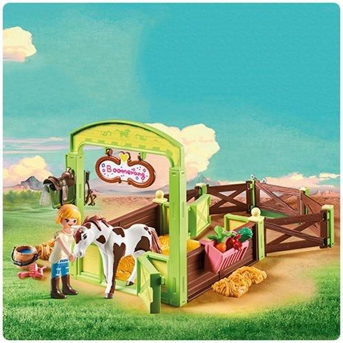 Dreamworks Spirit 9480 Dream Works Spirit Horse Box Abigail And Playmobil