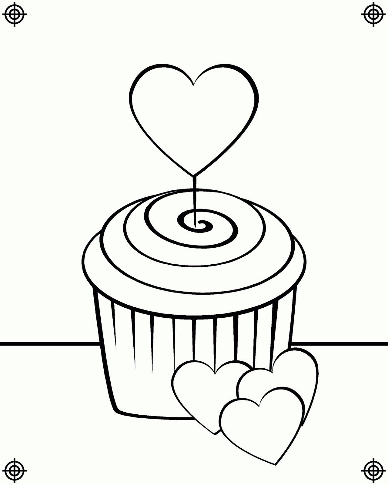 15+ Cupcake coloring pages birthday information