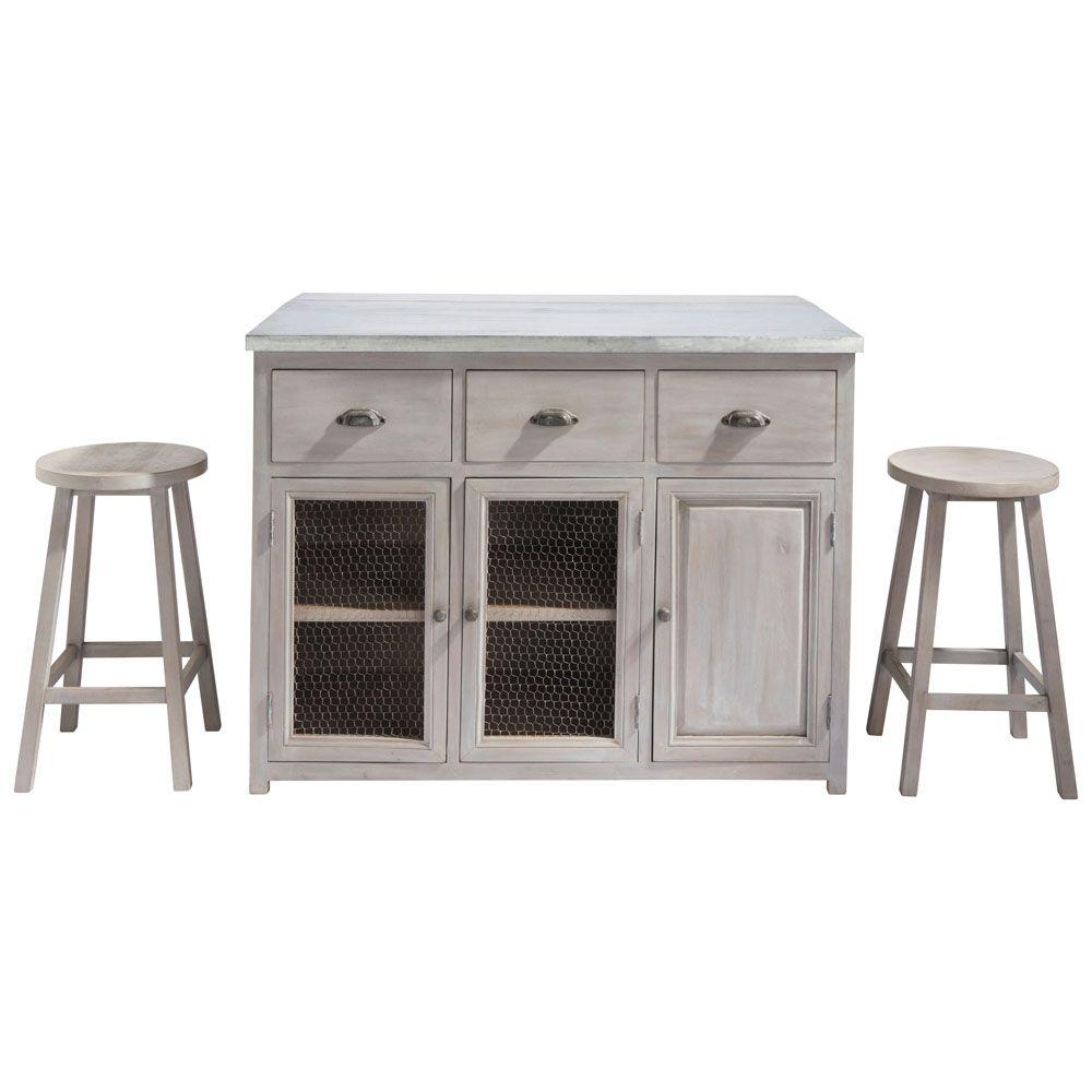 meuble de bar zinc maison du monde ventana blog. Black Bedroom Furniture Sets. Home Design Ideas