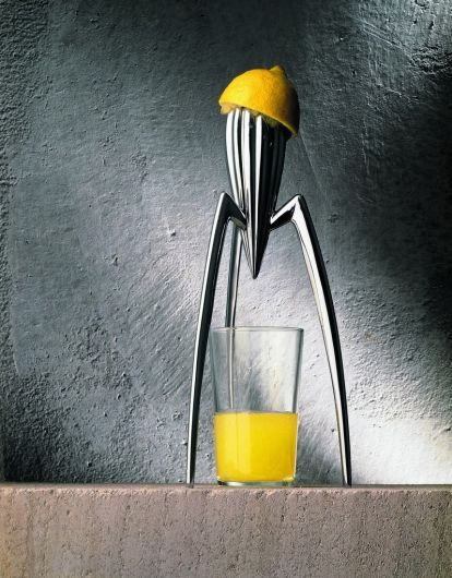 Alessi Salif Juicer, one of the cleverest we've seen.