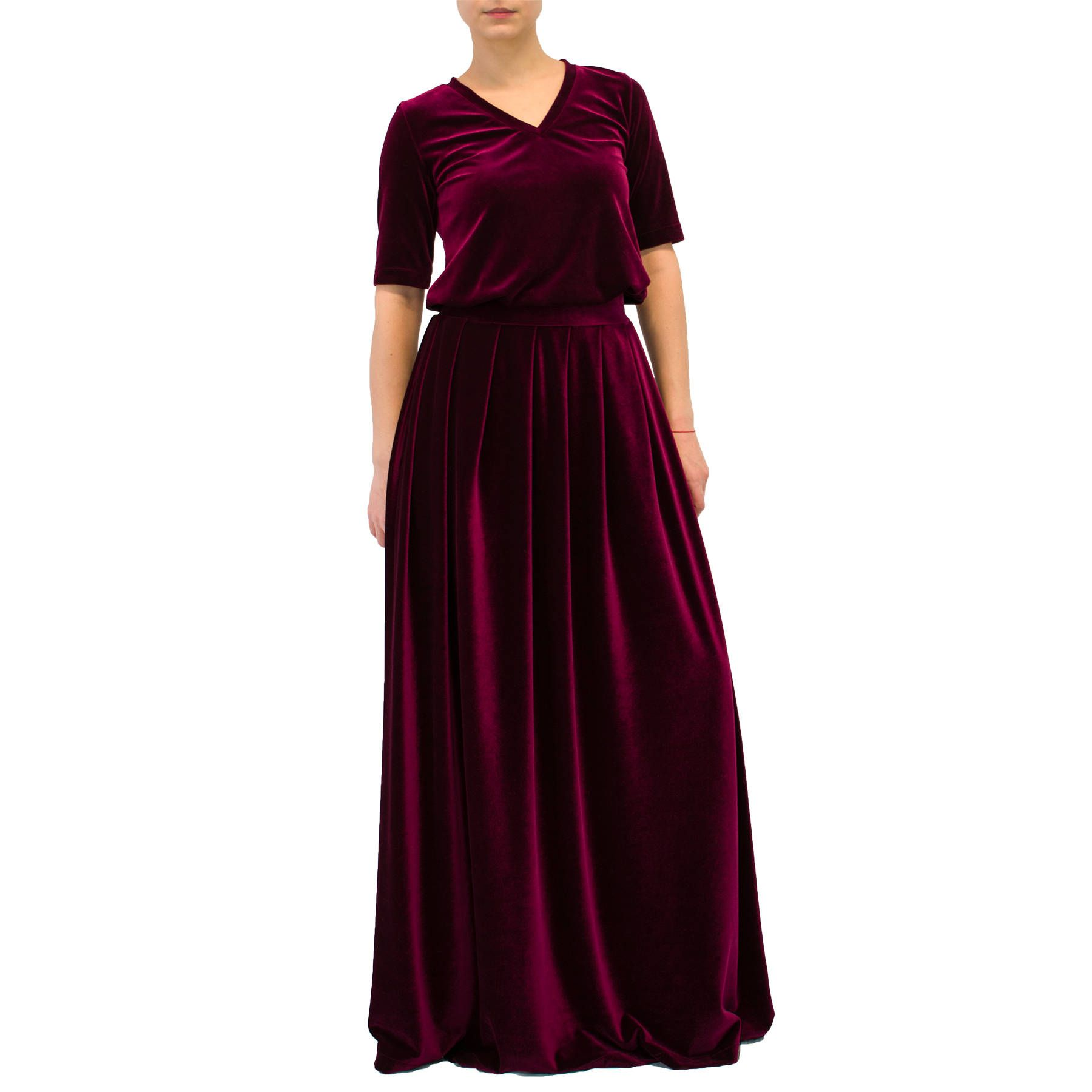 ball silk skirt view floors floor skirts carolina black icon clothing fullscreen herrera lyst cummerbund gown collection length
