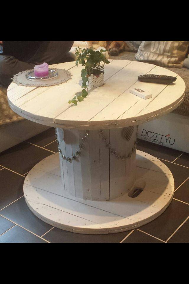 genial kabelrolle als tisch einrichtung inspiration pinterest kabelrolle tisch und garten. Black Bedroom Furniture Sets. Home Design Ideas