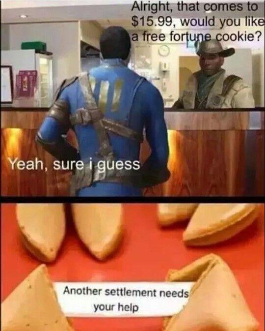 Preston Fallout 4 Meme : preston, fallout, Fallout, Preston, Garvey, Funny,, Meme,