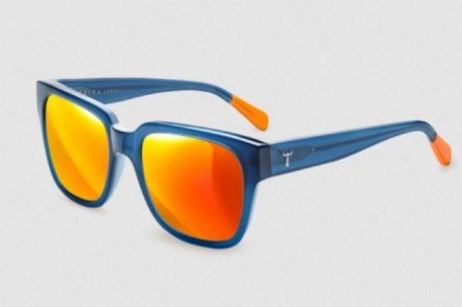 Lunettes de soleil pour homme : des modèles orange pour un été vitaminé