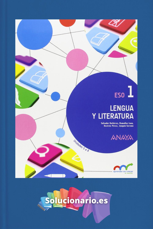 Solucionario Lengua Y Literatura 1 Eso Anaya Pdf Anaya Lengua Y Literatura Literatura