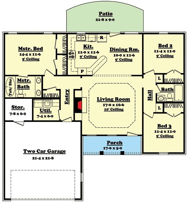 Plan 11700HZ: Split Bedroom Ranch Home Plan | Ranch house ... on house plans with side porch, house plans with wine cellar, house plans with walk-in closets, house plans with a sunroom, house plans with large master bedroom, house plans with exercise room, house plans with side entry garage, house plans with double oven, house plans with computer area, house plans with eat in kitchen, house plans with open floor plan, house plans with upstairs living, house plans with center atrium, house plans with media room, house plans with jack and jill bathroom, house plans with office, house plans with keeping room, house plans with double shower, house plans with mud room, house plans with large kitchen,
