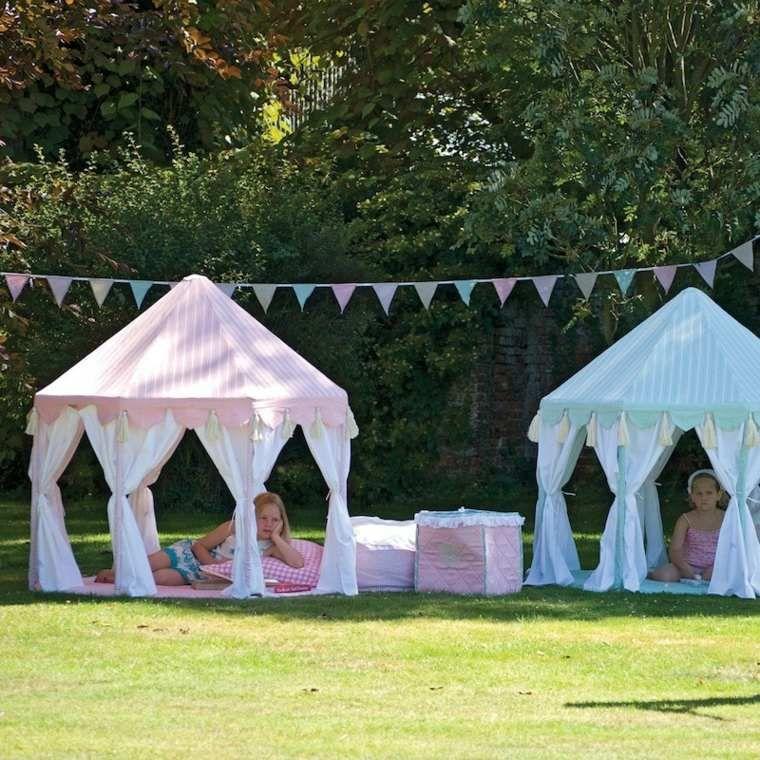 Tente de jardin, tonnelle et pergola : comment faire son ...