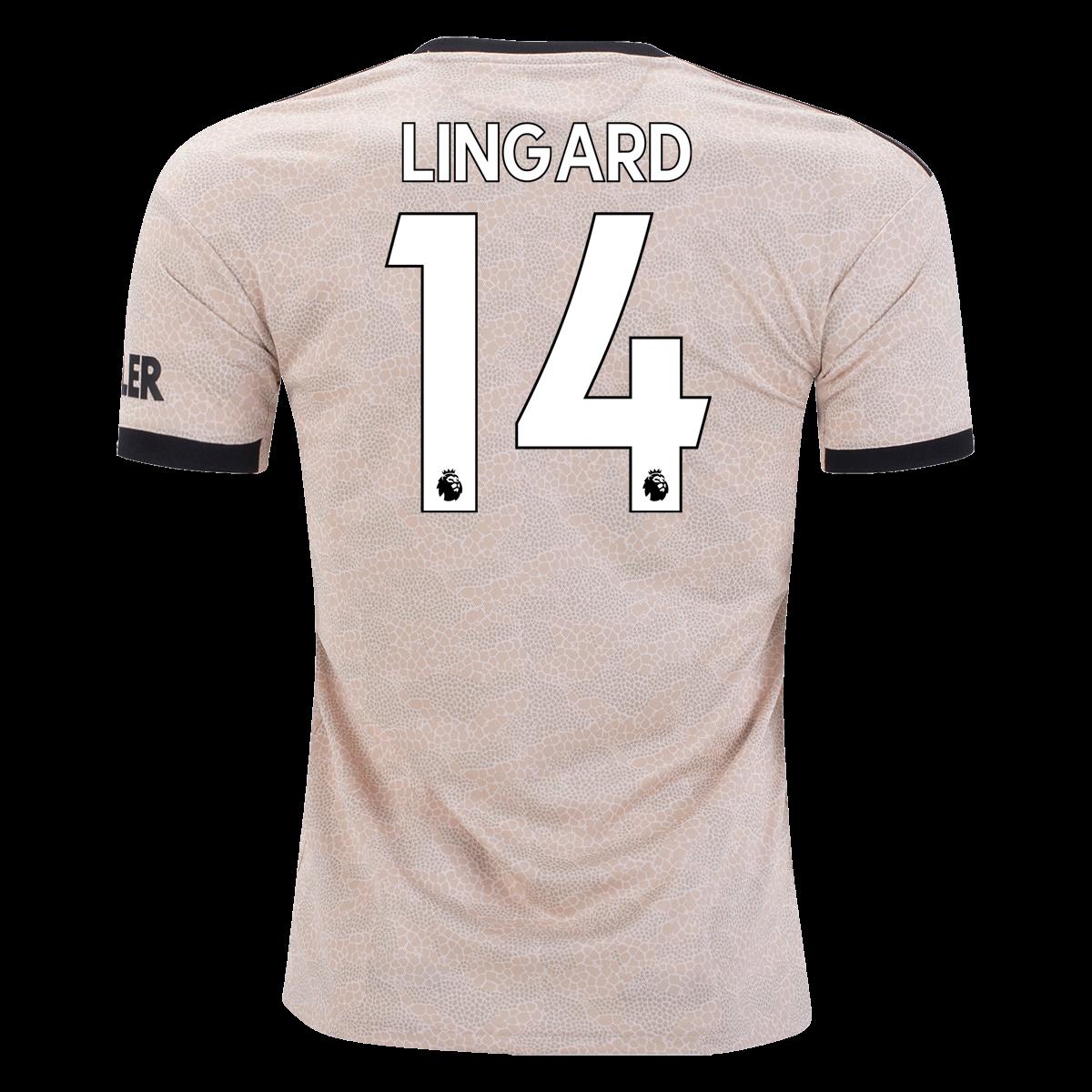adidas Jesse Lingard Manchester United Away Jersey 19/20   SOCCER ...