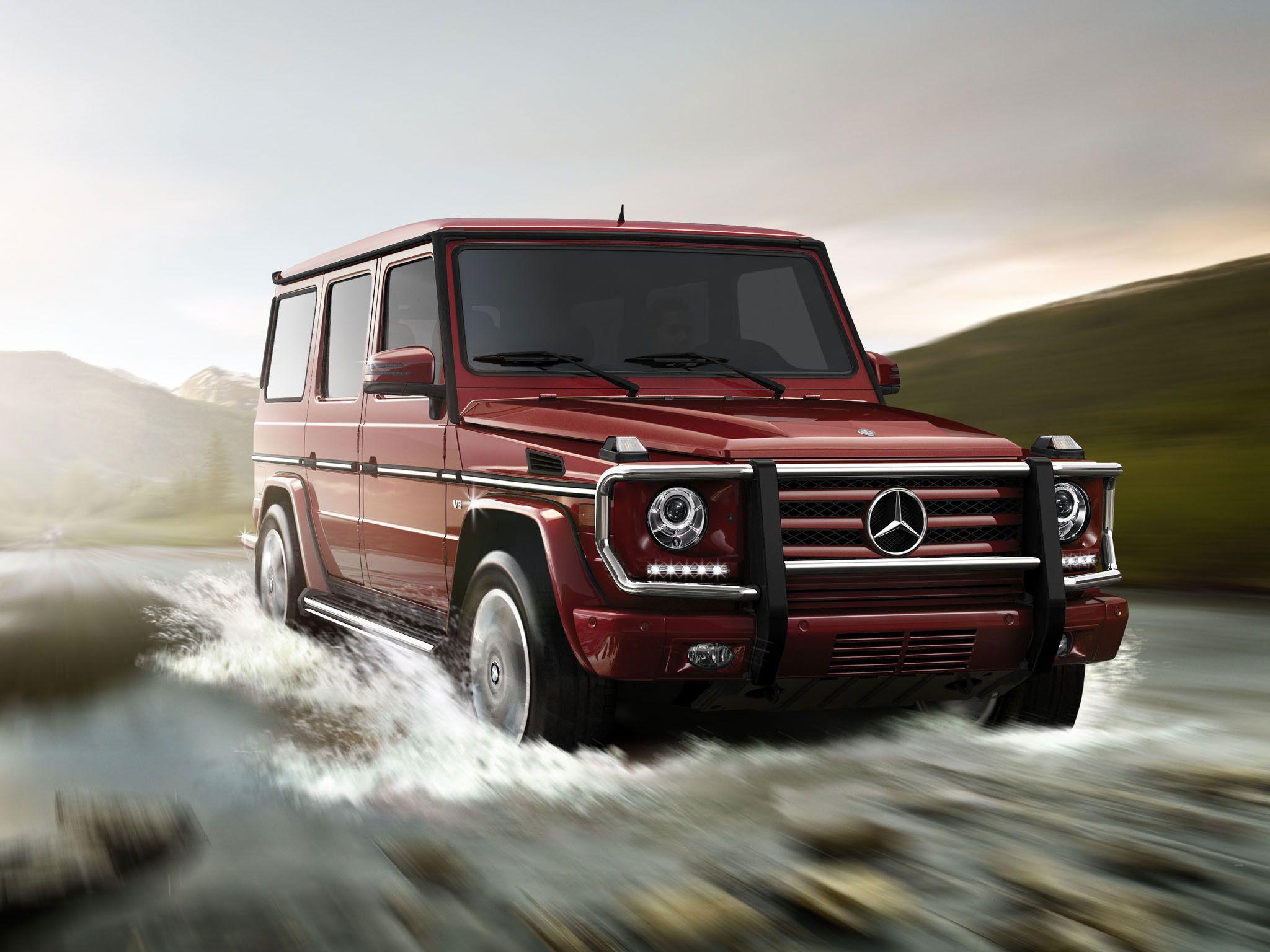2013 mercedes benz g550 in storm red metallic - 2013 Mercedes Benz G550
