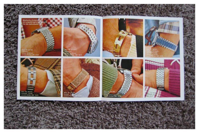 70er Uhrenbänder