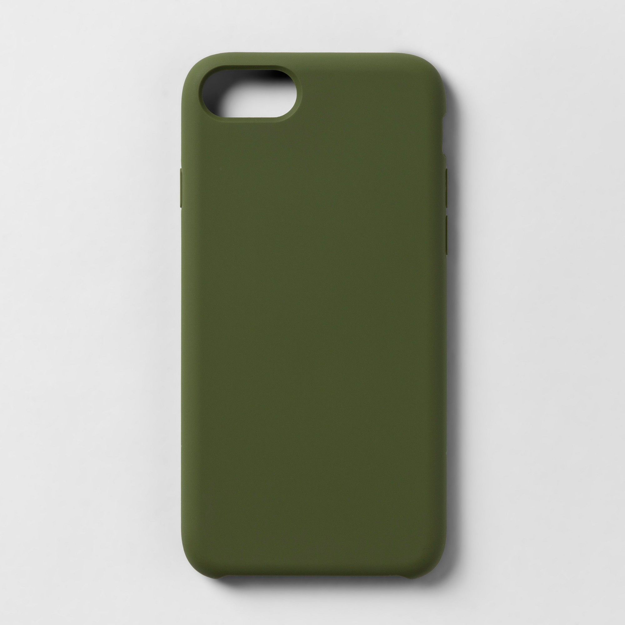 the best attitude c63d8 a72a8 heyday Apple iPhone 8/7/6s/6 Silicone Case - Olive, Green in 2019 ...
