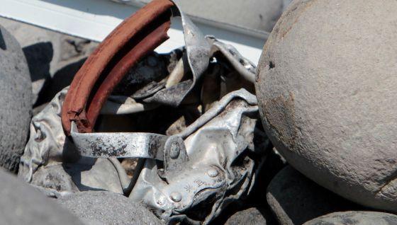 Restos hallados en la isla francesa de La Reunión. - RICHARD BOUHET