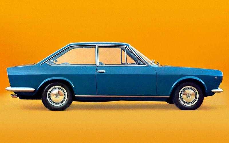 Mario Boano / Fiat 124 Coupé