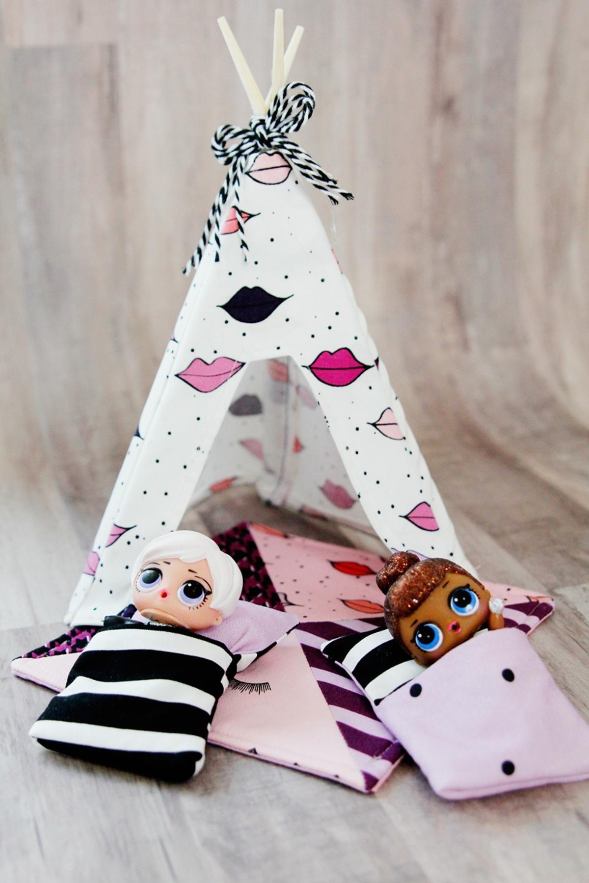 Lol Doll Tent Craftsy Toys Lol Dolls Diy Doll Tent Diy Doll