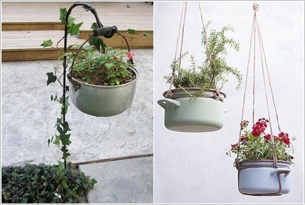 Top 7 Low-Budget DIY Garden Pots Got some broken cups and plates and ready to throw them? Well, look at this beautiful DIY using tea cups and plates. These were turned into cute little pots and can be placed in your garden or your window sills.. Top 7 Low-Budget DIY Garden Pots