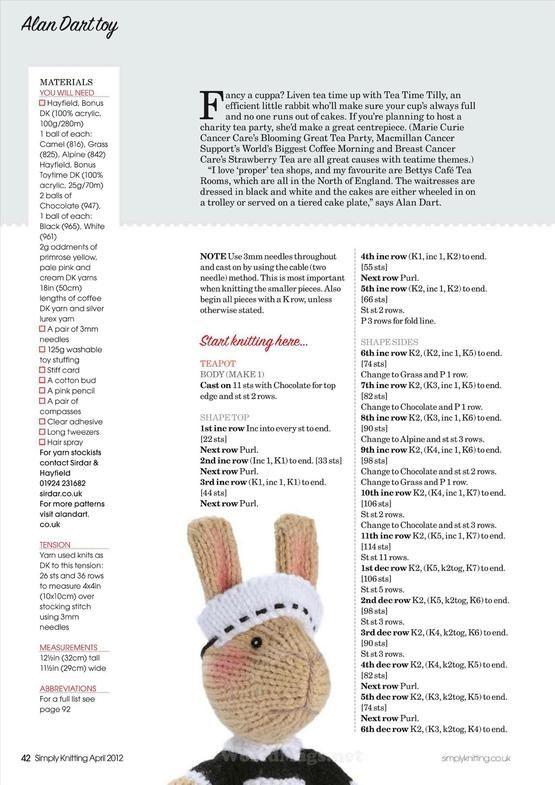 Simply Knitting+Simply Crochet+Knitting Magazine+Festive Knits to ...