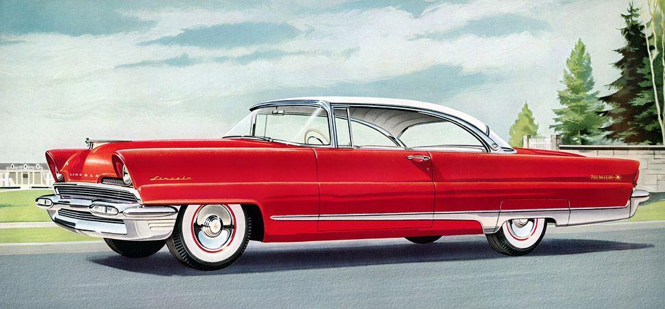Classic Car Art Lincoln Premiere Car