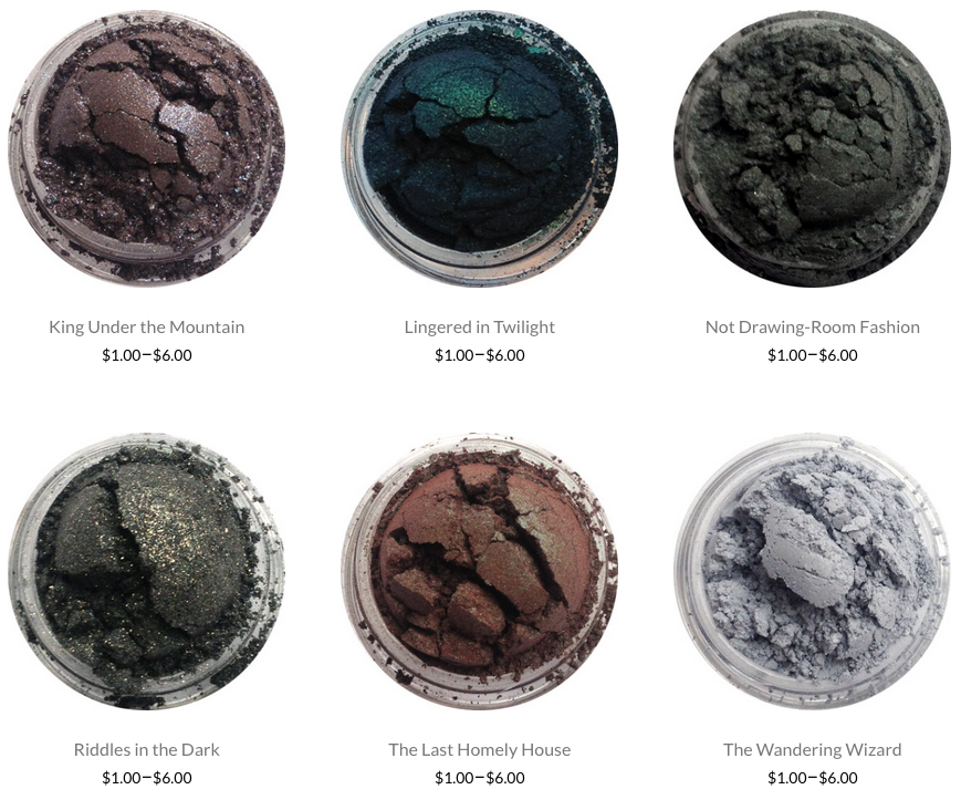 Shiro Cosmetics is well known in the geek community for having quality, 100% vegan friendly, geek themed makeup! Here's a small taste of their eyeshadows. Plus, a lot of these colours are lip safe and...