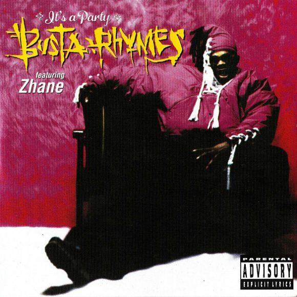 Busta Rhymes, Zhané – It's a Party (single cover art)