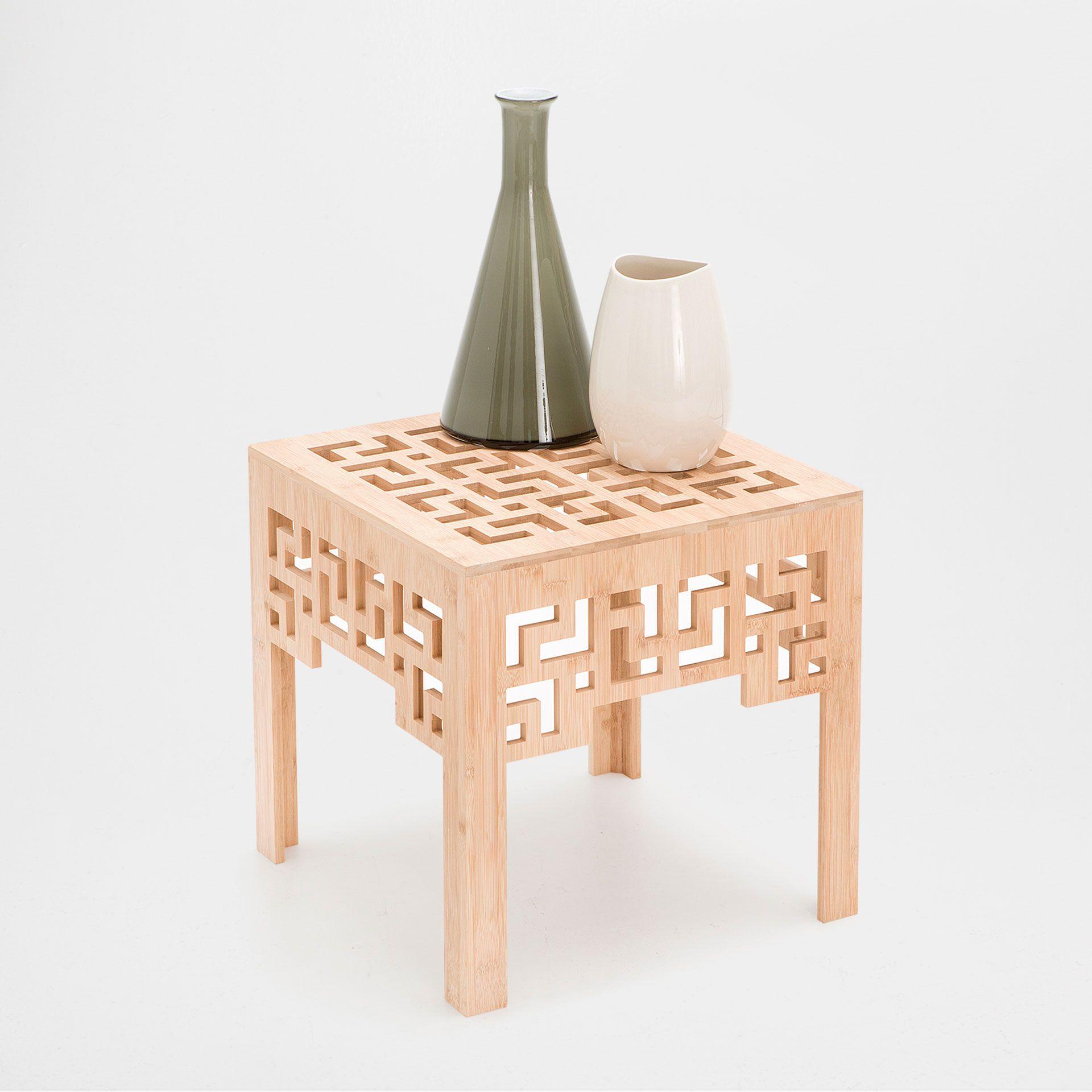 GEOMETRIC DESIGN SQUARE TABLE - Occasional Furniture - Decoration ...