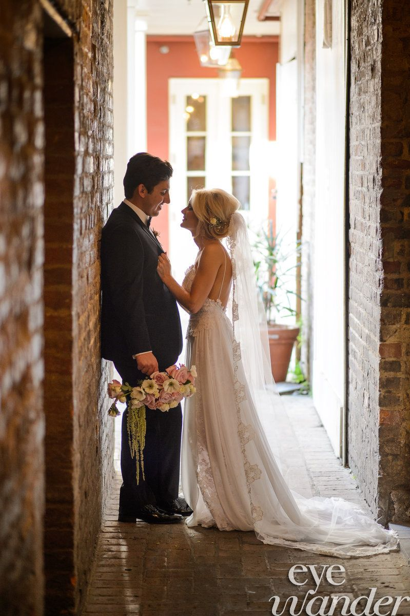 When Planning A Wedding In New Orleans This Wedding Is One To Look At For Inspiration The Brid French Quarter Weddings Wedding Photography New Orleans Wedding