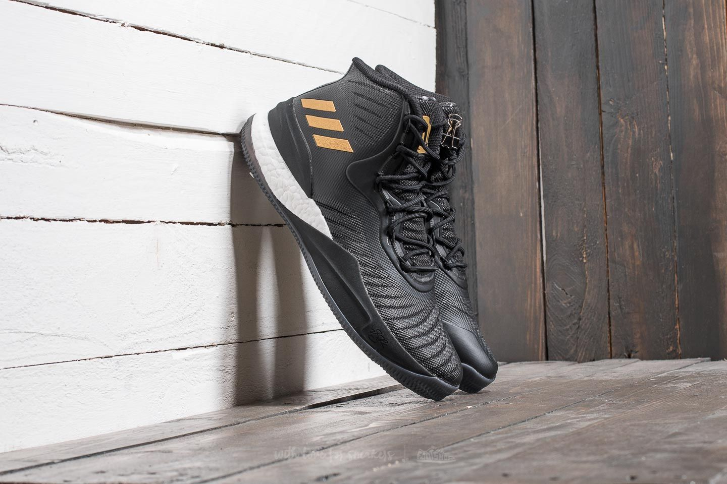 e20378f062f adidas D Rose 8 Core Black  Gold Metalic  Ftw White at a great price ...