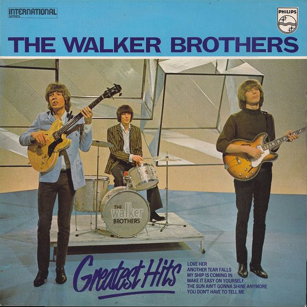 The Walker Brothers Greatest Hits Vinyl Lp At Discogs Walker Brothers Greatest Hits Classic Album Covers