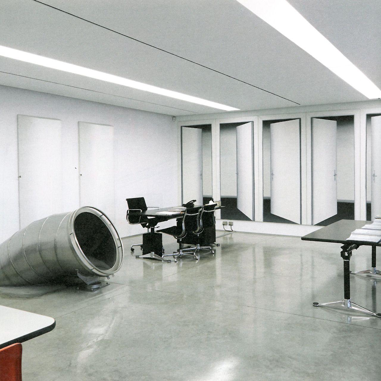 Miuccia Prada\'s office w/ entrance to Carsten Höller slide ...