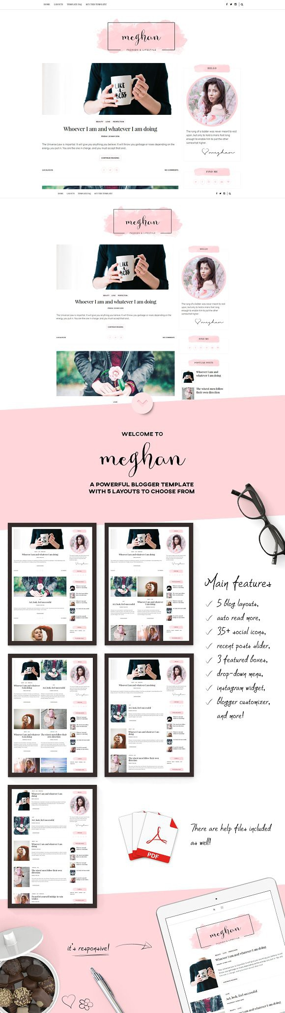 Comfortable Girly Website Templates Photos - Entry Level Resume ...