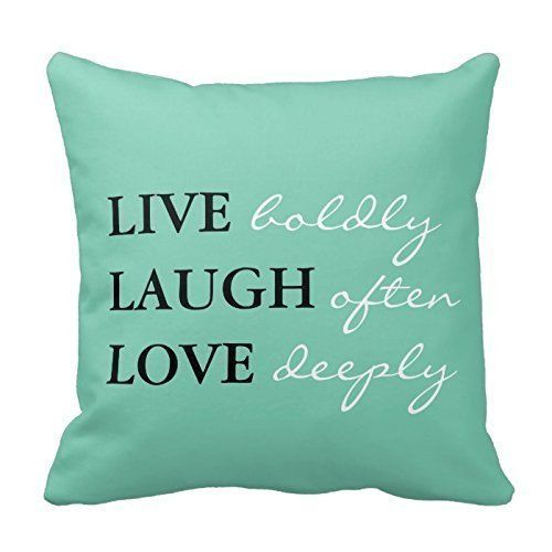 Love. Pillow Case Cover Decorative Inspirational Words Quotes 18 x 18