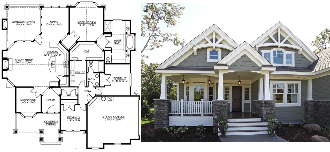 Top Ten House Plans For Spring Building Time To Build House Plans House House Styles