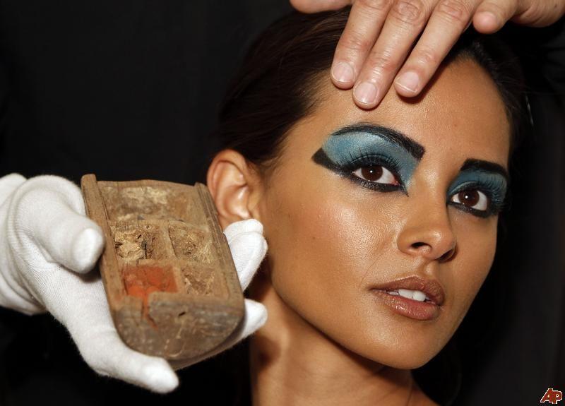 An Egyptian Makeup Palette Egyptian Makeup Ancient Egyptian