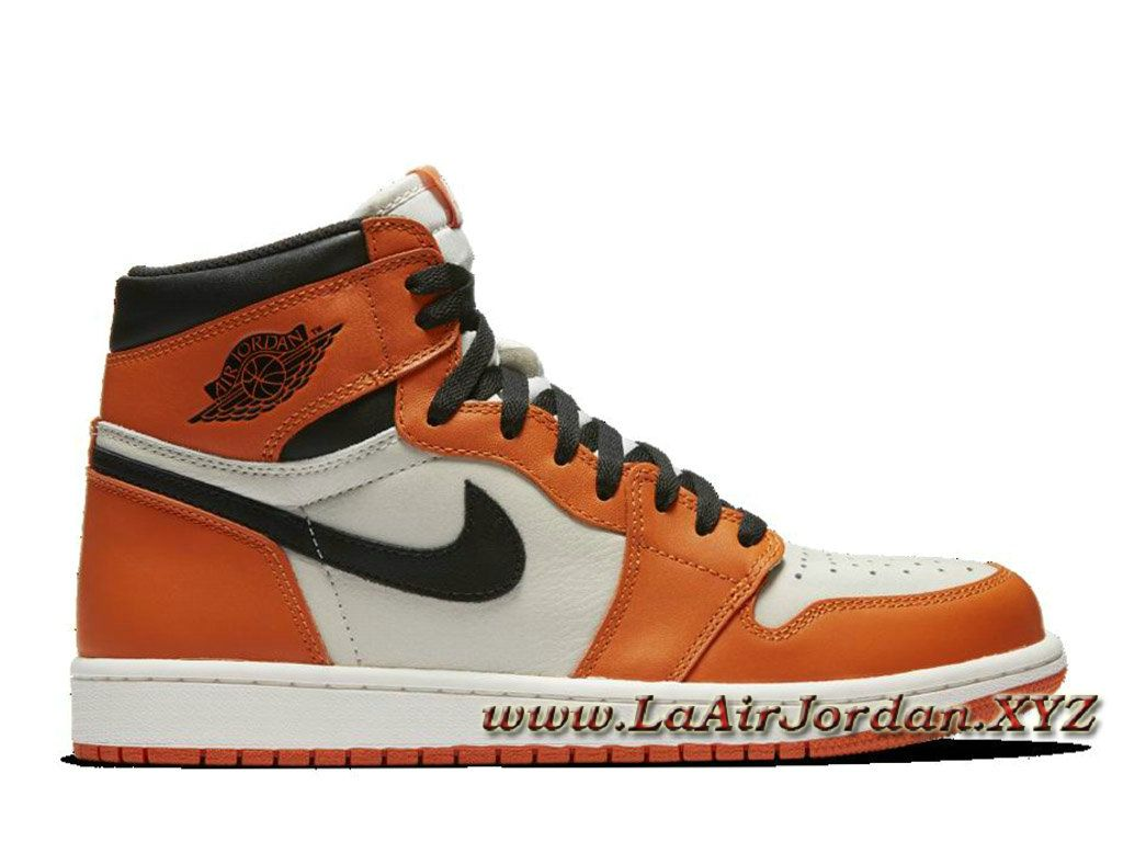 air jordan femme orange