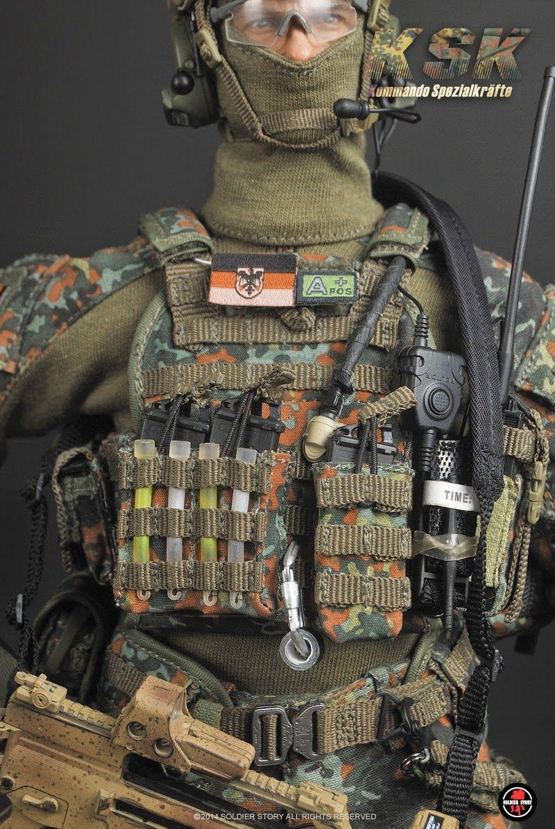 "toyhaven: Preview: Soldier Story 1/6 scale Kommando Spezialkräfte (KSK) 12"" figure - Miroslav Klose?"