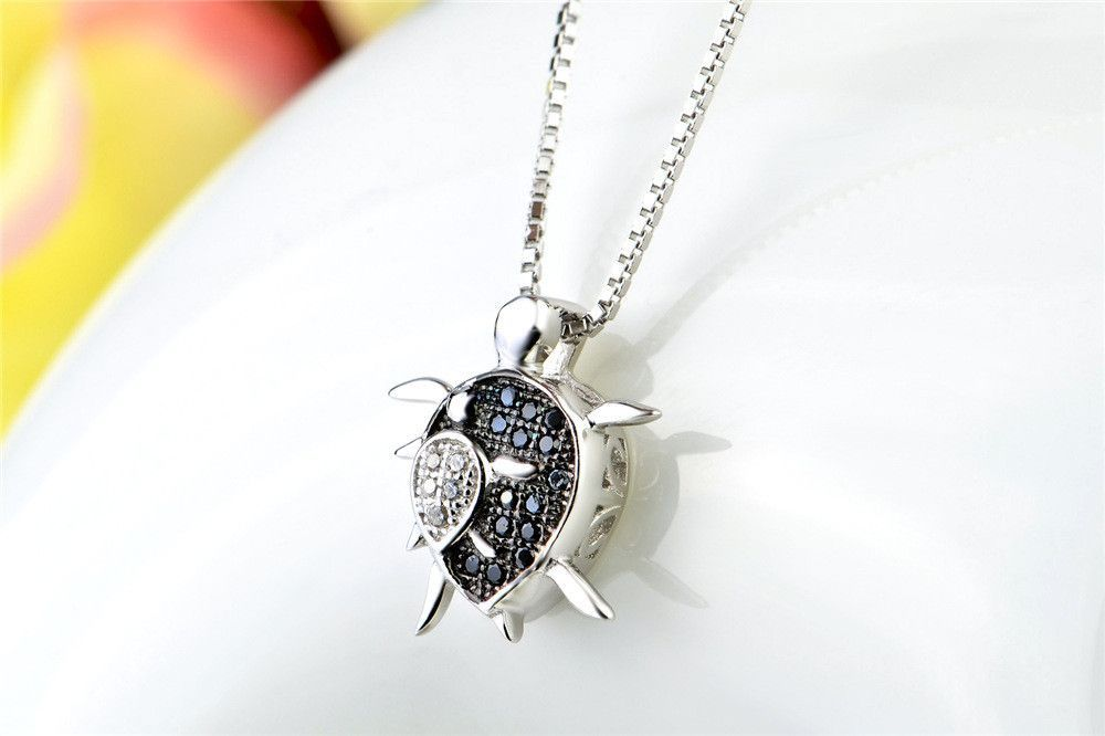 Turtle and Rider Necklace