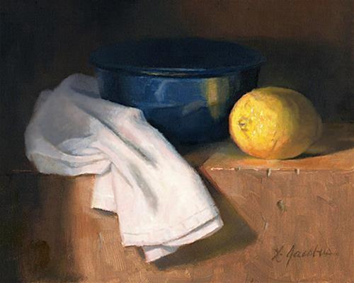 DPW Fine Art Friendly Auctions - The Lemon by Linda Jacobus