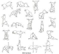 yoga piggy  kids yoga poses preschool yoga kids yoga