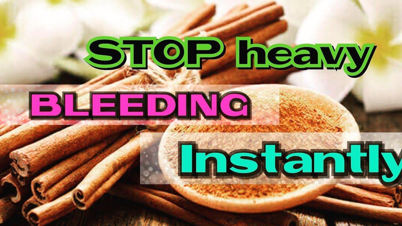 HOW TO STOP HEAVY MENSTRUAL BLEEDING INSTANTLY / HEAVY
