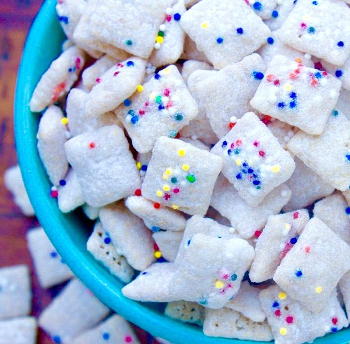 Cupcake Muddy Buddies// Kathryn's Kitchen Blog