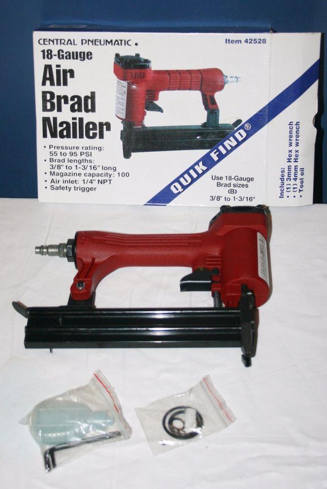 What Air Pressure For Brad Nailer
