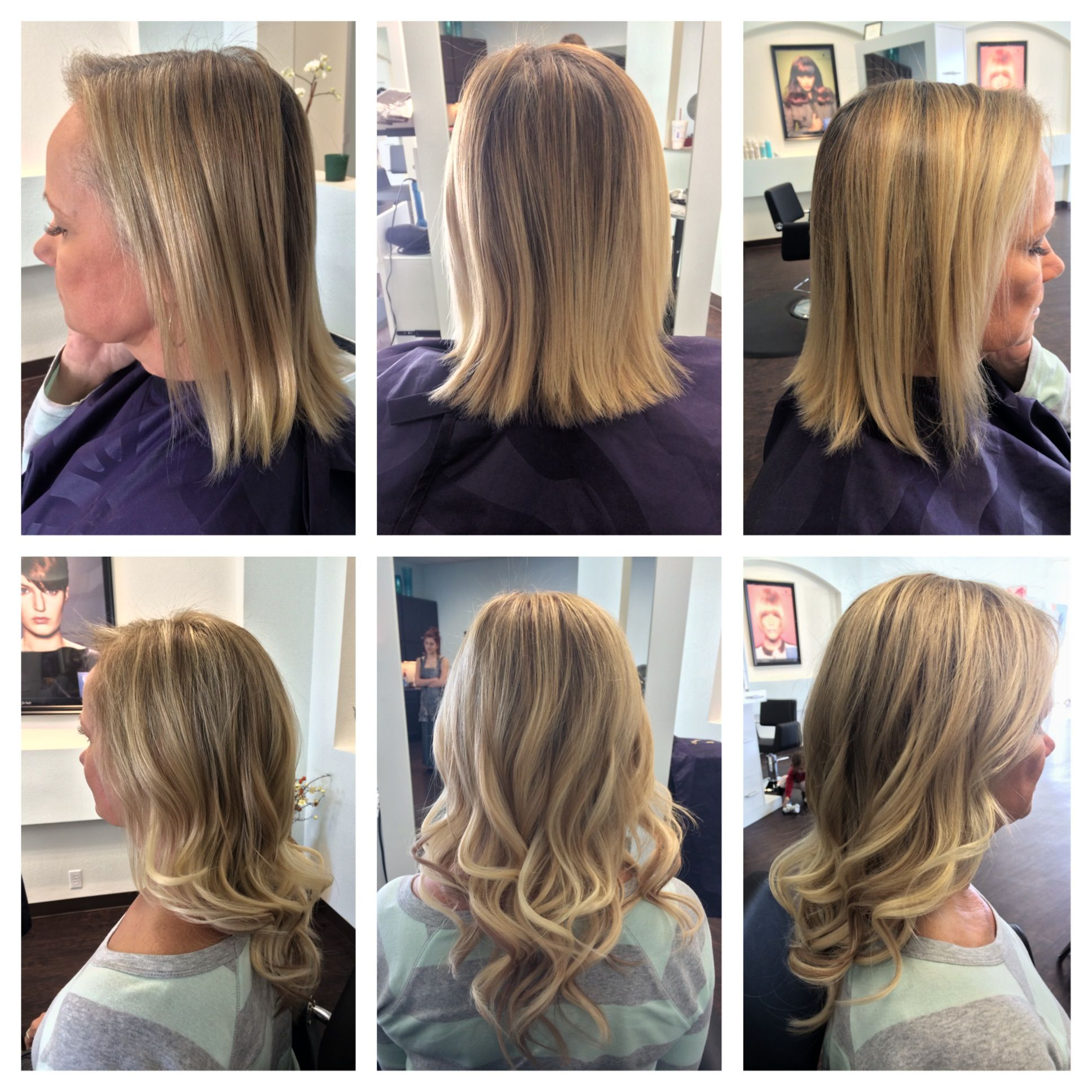 Hair Extensions Before And After 16 I Link Extensions Stylist In