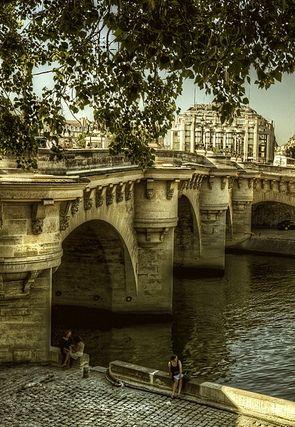 Lieux Insolites Ile De France : lieux, insolites, france, Seine,, Paris, Paysage, France,, Paris,, Insolite