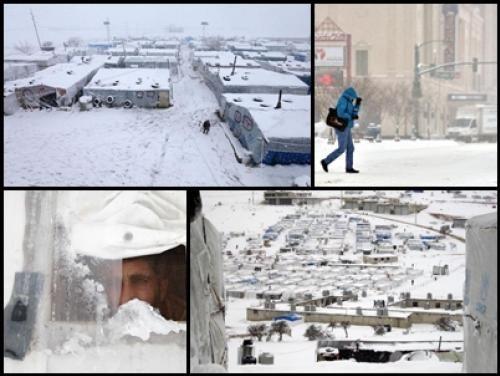 (ประมวลภาพ) พายุหิมะถล่มหนัก!! สหรัฐฯ-ตอ.กลาง หนาวสะท้าน !!!   สำนักข่าวทีนิวส์