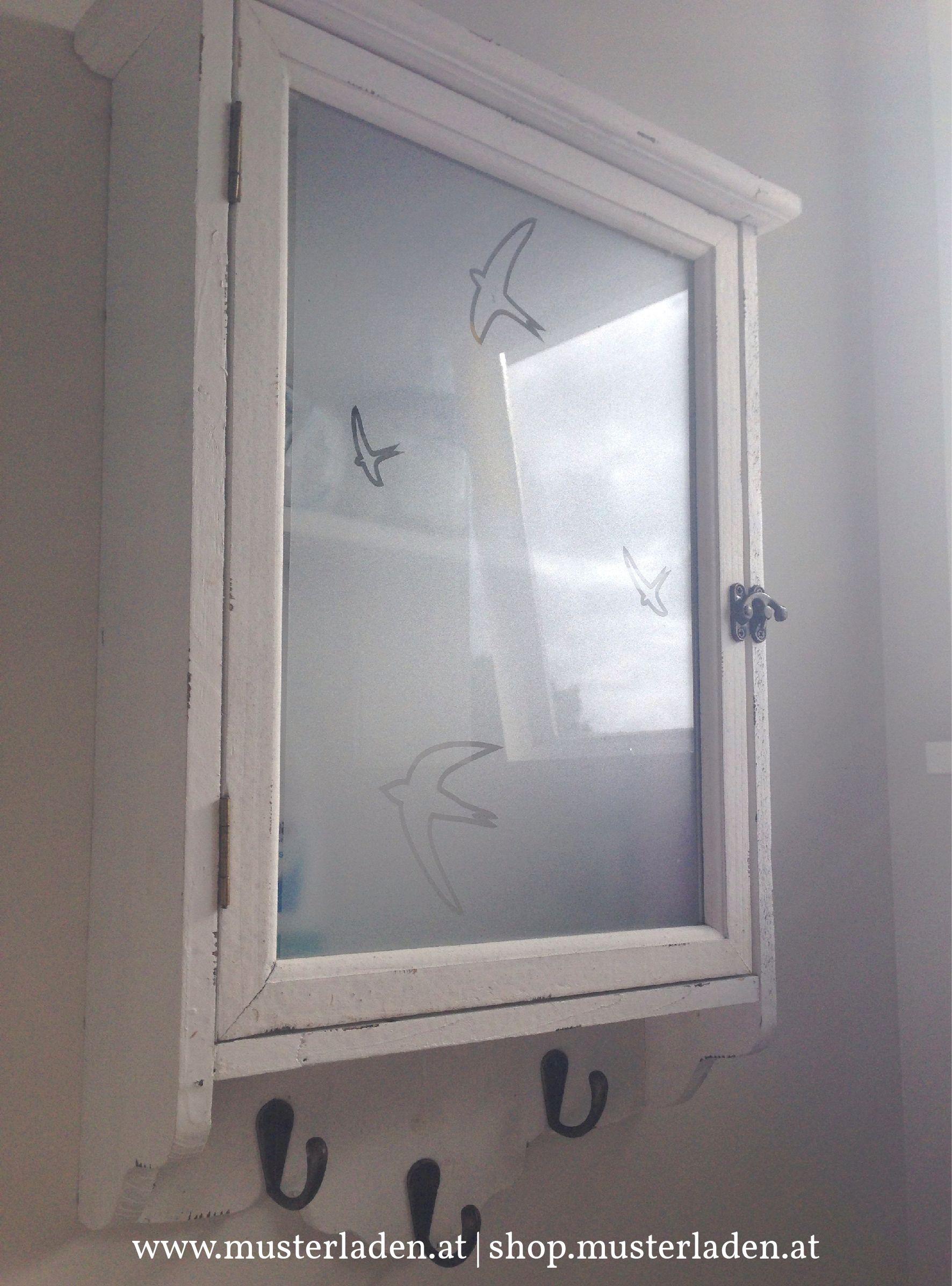 Sichtschutz Fur Glasturen In Schranken Oder Kastchen Und Ist